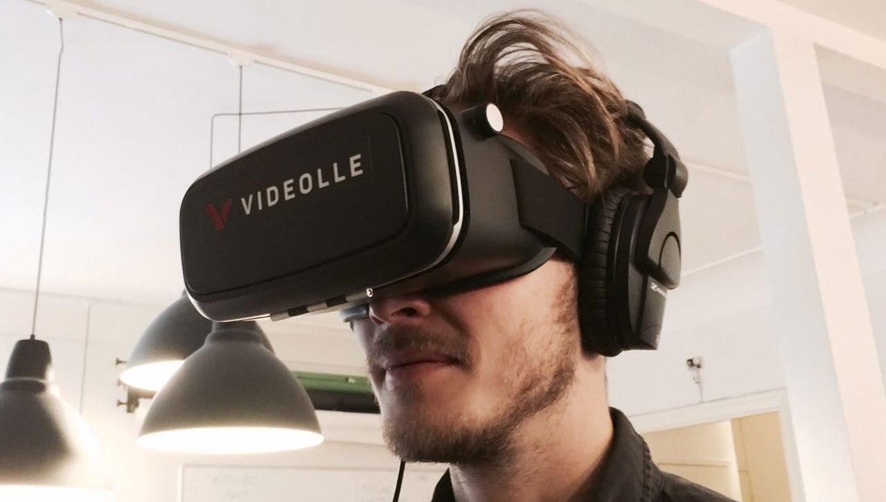 virtual reality video