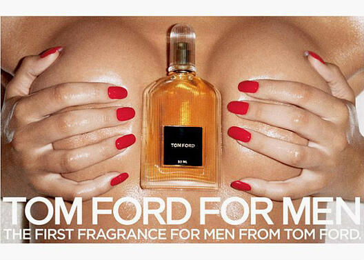 Tom Ford Fragrance Boobs blog